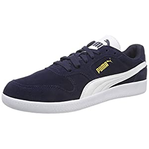 Puma Unisex Adults' Icra Trainer SD Low-Top Sneakers, Blue (Peacoat-Puma White), 8 UK