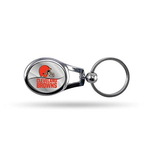 NFL Oval Keychain