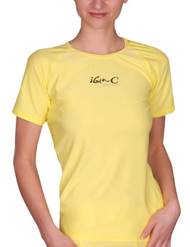iQ-Company Damen UV-Schutz T-Shirt IQ 300 Watersport, gelb, XXS, 668122_2228
