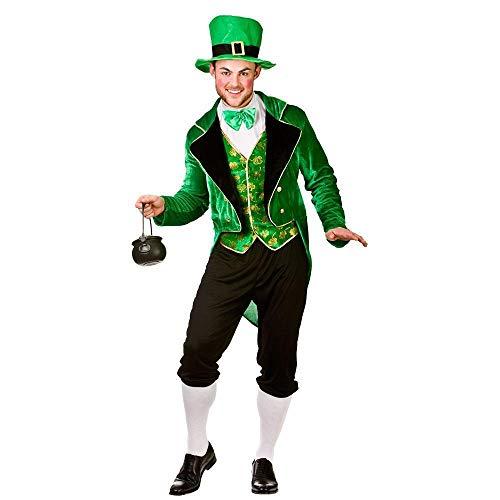 Deluxe Leprechaun - Adult Costume Man: M (Chest: 41