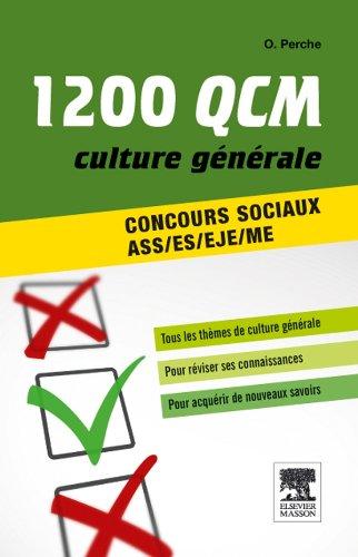 1200 QCM de culture gnrale concours sociaux