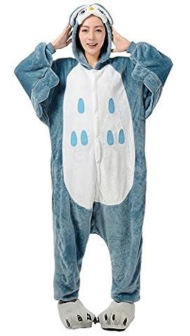 Populaire Halloween - Nicetage Pyjama Animal Hibou Costume Unisexe Cosplay