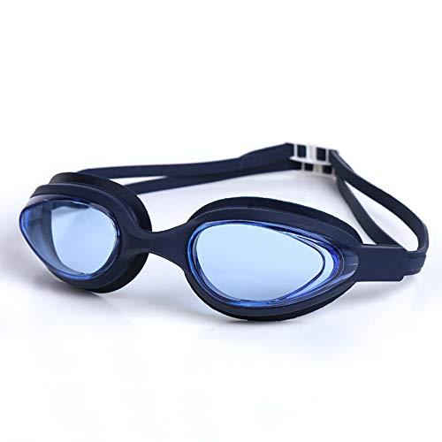 RSRZ Schutzbrille Anti-Fog-Männer Und Frauen Schwimmbrille Hochfesten Elastischen Silikon-Schwimmausrüstung Schwimmbrille Navy