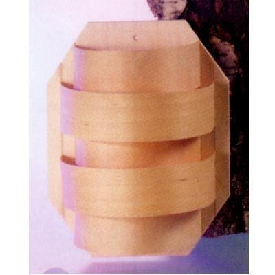 Eliga Blendschirm klein mit Spanstreifen für Sauna Leuchte