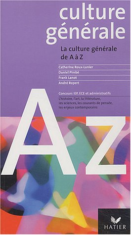 Culture générale de A à Z, 2004