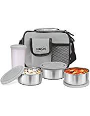 Milton Steel Combi Lunch Box with Tumbler