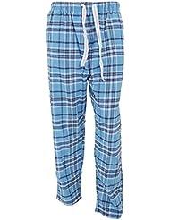 Cargo Bay - Pantalones de pijama de franela estampados hombre caballero