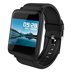 Fitness Tracker Smart Watch Bluetooth for Android iOS Heart Rate Blood Pressure Monitor Swimming Sports Activity Tracker…