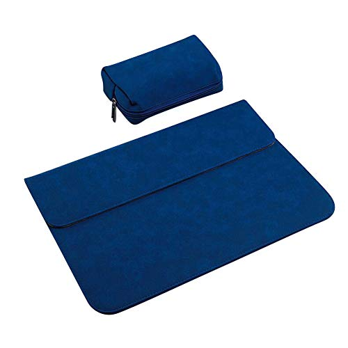 "13 Zoll Laptop Hülle Tasche Laptophülle Laptoptasche Kompatibel mit MacBook Air 13 /MacBook Pro 13 2016-2018/Dell XPS 13/Surface Pro 6 5 4/Huawei MateBook X Pro Navy blau,PRO 13\"" (31.8X22.3 cm)"