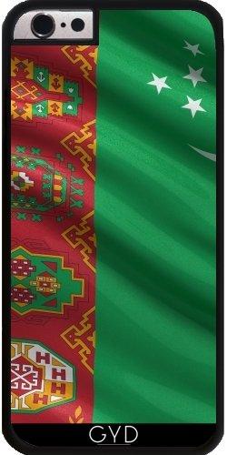 Coque pour Iphone SE - Drapeau De Turkmenistan by Carsten Reisinger Plastique Rigide