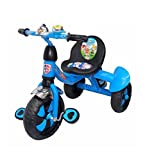 #7: Baby Tricycles with Water Bottle Shaker Heavy Duty wheels Quality Handle Learn to Ride Trike Suitable for Boys & Girls Colour Available Blue(SG-0031)