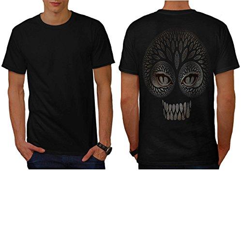arbre-les-dents-visage-la-nature-homme-nouveau-noir-s-t-shirt-reverse-wellcoda