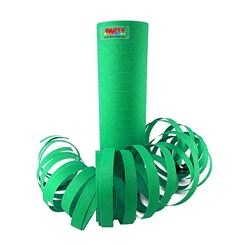 PARTY DISCOUNT ® Luftschlange grün, 1 Rolle Standardmaß - Luftschlangen Grüne