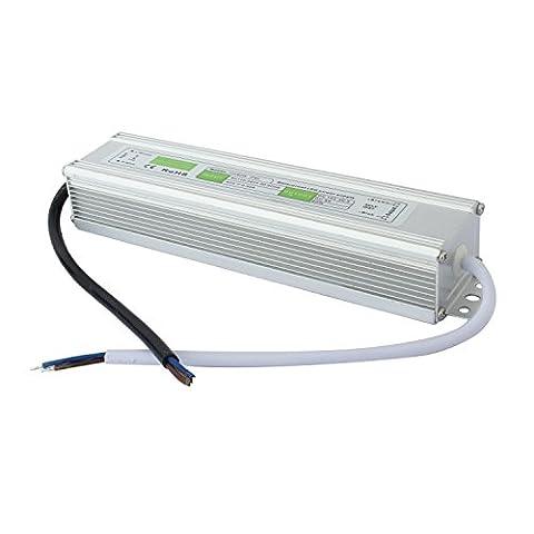 Liqoo® DC 12V Etanche Transformateur LED Transfo Alimentation 5A 60W Driver Convertisseur AC 110 - 260V à DC 12V Pour Ruban et Ampoule LED 12V