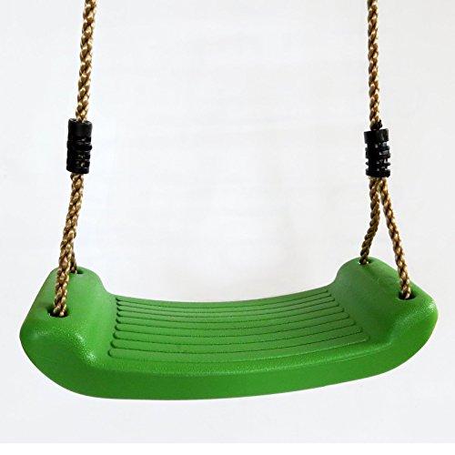 Schaukelsitz Schaukelbrett Kunststoff Farbe grün von Gartenpirat®