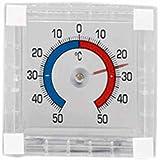 Star 2059459 Thermomètre de Fenêtre à Coller Transparent