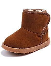 Zapatos de bebé, Invierno niño cálido Estilo Botas de Nieve de algodón Zapato 12-36 Meses
