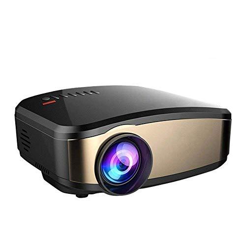 ZLHW Drahtloser Wifi-Projektor Full HD 1080P, beweglicher MiniHinokinema LED-Projektor für PC Laptop-Smartphone Xbox und Android Fernsehkasten - Led-projektor-1080p-epson