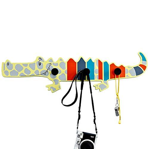Agaidu Tür Dekoration Kreative Haken Kreative Mode Cartoon Krokodil Dekorative Garderobe Wohnzimmer Schlafzimmer Bekleidungsgeschäft Kleiderhaken Kinderzimmer Persönlichkeit Anhänger Rack -