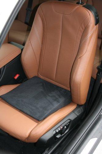 Preisvergleich Produktbild Unbekannt Sitzerhöhung Keilkissen Relax Rückenkissen schwarz Auto Sitzkissen Bezug Waschbar fürs Auto und für den Stuhl