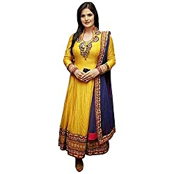 Maxthon Fashion Women's Cotton Dress Material (Max_salwarsuits_dresses_2214_Pink)