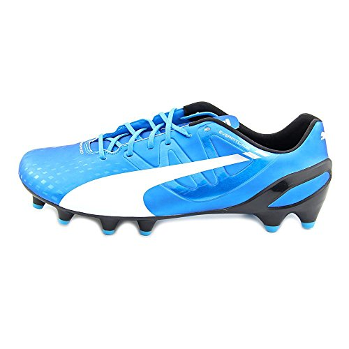 Puma EvoSpeed 1.3 Fg Herren Synthetik Klampen Hawaiian Ocean-White-Black