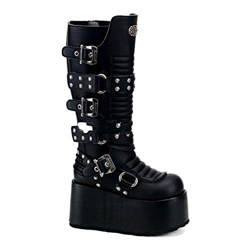 Demonia Ripsaw-520 - Gothic Industrial Plateau Stiefel Schuhe 36-45, Größe:EU-37 (US-M5)