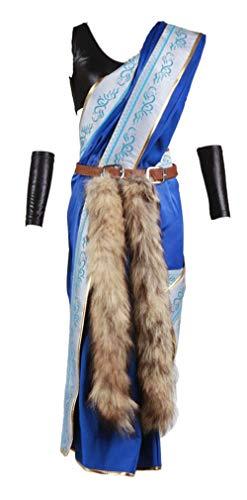 Chong Seng CHIUS Cosplay Costume Outfit for Oerba Yun Fang Version 1 (Final Fantasy Xiii 2 Kostüm)