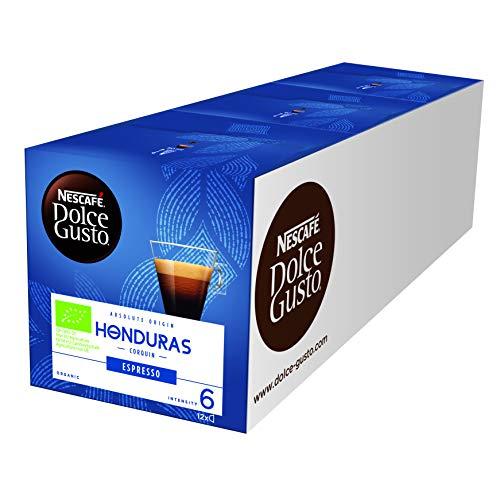 NESCAFÉ Dolce Gusto Honduras Espresso, 100% biologischer Anbau, Hochland Arabica Bohnen,...