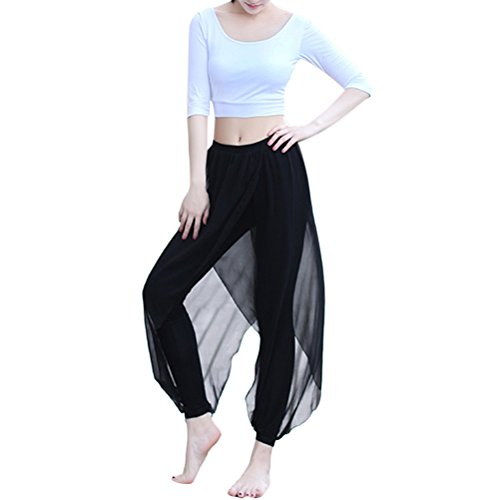 Zhhlaixing Two pieces Womens Sports Yoga Set Simple Breathable Fitness Sportwear Size M-XXL White&Black