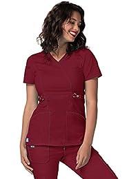 Adar Uniforms Casaca Laboral de Enfermería para Mujeres - 3234 Color Win | Talla: XXS