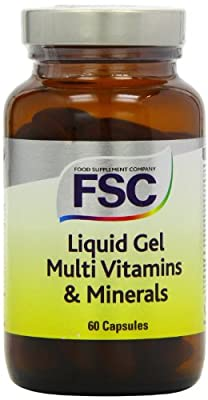 FSC Liquid Gel Multi Vitamins and Minerals - Pack of 60 Capsules from FSC