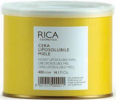 Warmwachs HONIG von RICA, Dose 400 ml. Profi Enthaarungsprodukt Waxing