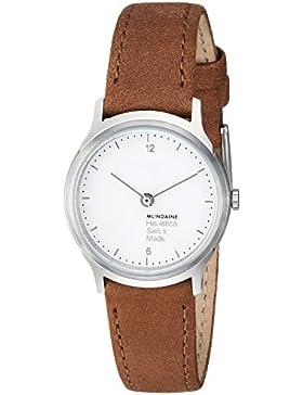 Mondaine Damen-Armbanduhr Helvetica No1 Light 26mm Analog Quarz MH1.L1110.LG
