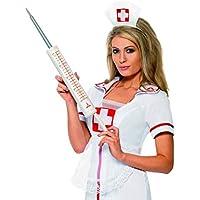 Halloweenia – Accesorio para Disfraz de médico médico Enfermera Jumbo Gigante jeringa, Carnaval, Carnaval