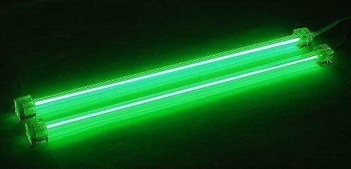 Neonröhre Kaltkathodenröhre (CCFL) 2er-Set 30 cm grün