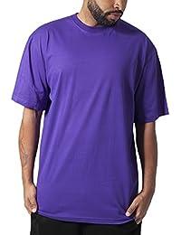 Urban Classics TB006 Herren T-Shirt Tall Tee | Oversize Shirt, Violett (Purple 195), XL