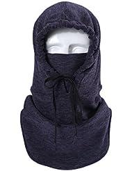 Balaclava Chapeau | Tissu Cationique - Greatever Multifonction Cagoule Chapeau Masque De Protection En Polaire De Plein Air Pour Ski/Vélo/Moto/Camping/Randonnée