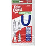 Dirt Devil Typ U microfresh Staubsaugerbeutel (3er Pack), 3920750001