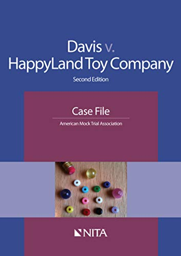Davis v. HappyLand Toy Company: Case File (NITA) (English Edition ...