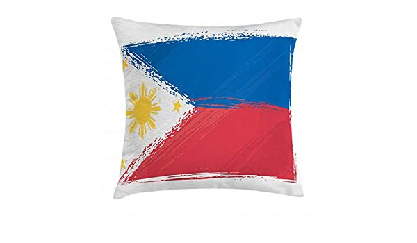ABAKUHAUS Filipino Throw Pillow Cushion