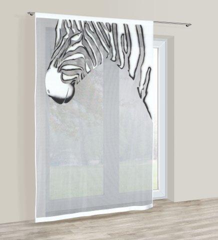 Glow in the Dark oder schwarz/weiß Net Vorhang Panel