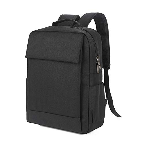 Rucksack Computer TascheBusiness einfache 15,6-Zoll-Geschenk Rucksack Männer und Frauen Schultasche, 1632 schwarz, 16 Zoll -