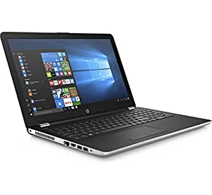 HP 15-BS637TU Portable FHD 15.6 Inch Laptop (6th Gen Intel Core i3-6006U/4GB/1TB/Win 10 Home 64-bit/MS H&S 2016/Intel HD Graphics 520) Natural Silver