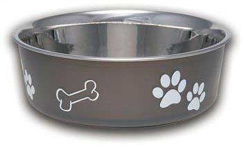 loving-pets-bella-bowl-dog-bowl-large-15-litre-espresso