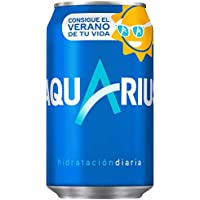 Aquarius - Bebida refrescante aromatizada, 330 ml