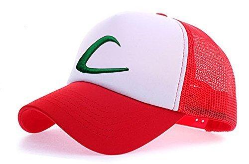 myglory77mall Anime Hut für Herren Einheitsgröße Rot/weiß t1