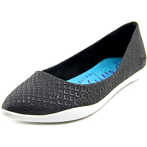 Blowfish Click Femmes Synthétique Chaussure Plate Black Royal Snake
