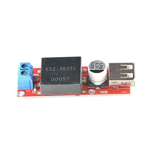 CHANNIKO-DE 5-V-USB-Ausgangskonverter DC-DC 7-V-24-V-12-V-3A-Tiefsetzstellermodul KIS-3R33S-Tiefsetzstellernetzteilmodul 3a Linear Power Supply