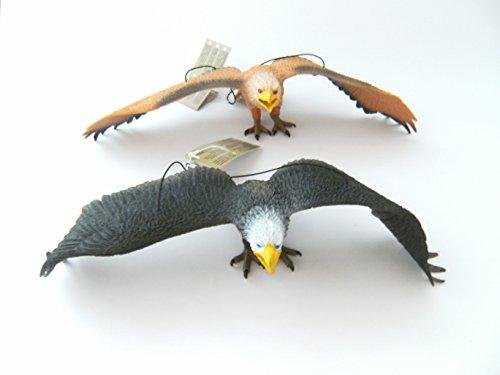 adler-hartgummi-2erset-je-33-cm-neu-weisskopfseeadler-vogel-vogel-greifvogel-tiere-spielen
